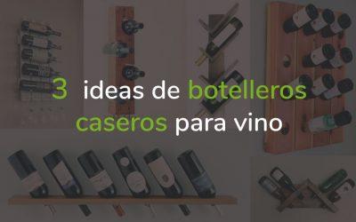 Botelleros caseros para vino, 3 ideas muy fáciles