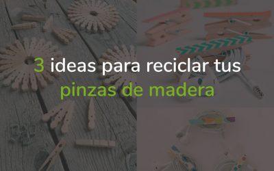 3 ideas con pinzas de madera recicladas