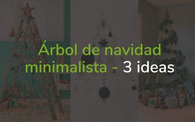 Árbol de navidad minimalista – 3 ideas económicas