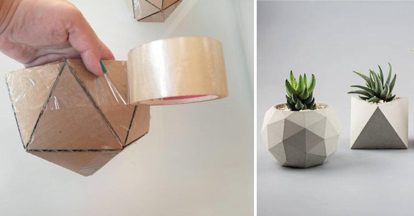 Manualidades con cemento - 3 ideas genia - Blog Openclickshopping