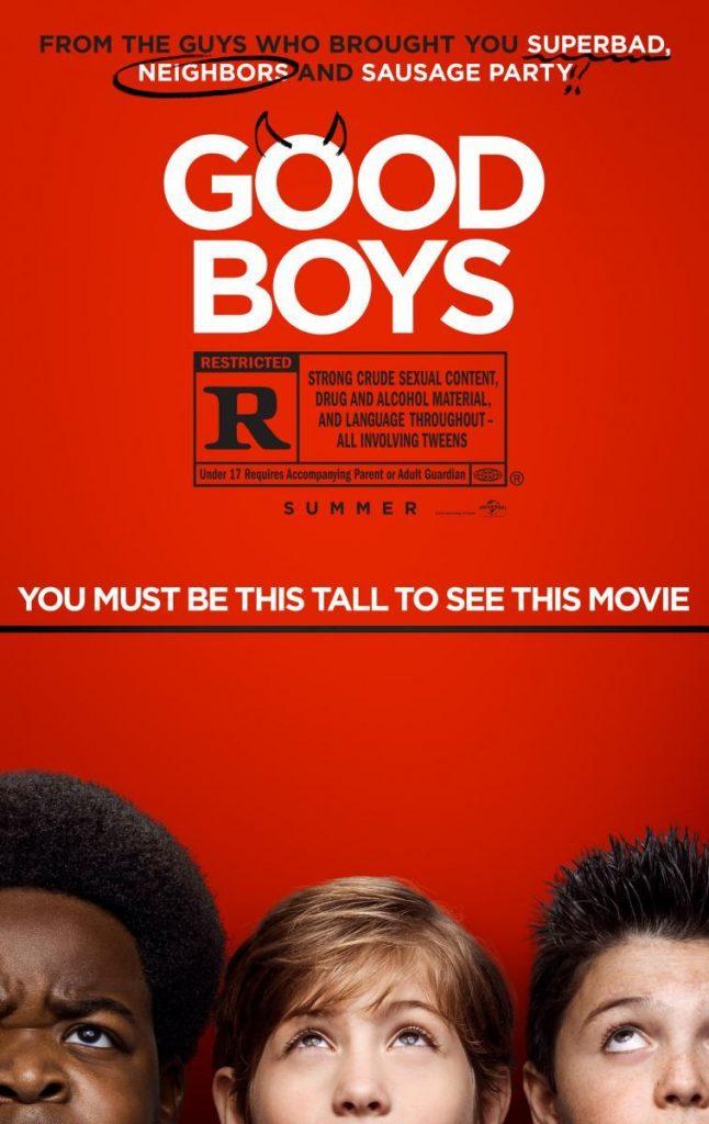 Chicos buenos película humor