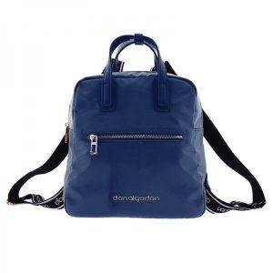 Bolso mochila azul marino Don Algodón